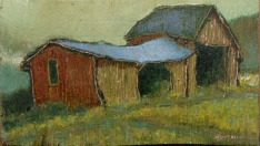 Small barn (Hollis) II