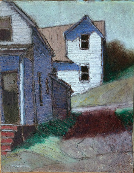 Two houses on a hill (Northport)